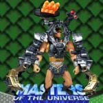 Battle Armor version of the He-Man action figure from the Masters of the Universe 200x Modern Series toy line.
