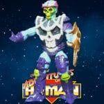 Battle Blade Skeletor figure from the 1992 New Adventures of He-Man toy line. Check out his figure & accessories using the Weapons Rack database finder.