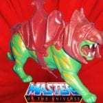 Battle Cat creature from the vintage Masters of the Universe toy line.