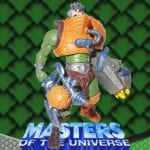 Battle Glove Man-at-Arms action figure from the Masters of the Universe Modern Series toy line. Find other figures & accessories using the Weapons Rack.