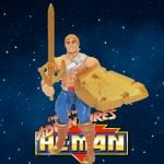 The battle punch version of He-Man from the New Adventures of He-Man toy line from 1989. Check out his figure & accessories using the Weapons Rack database finder.