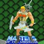 Battle Sound He-Man action figure from the Masters of the Universe Modern Series.