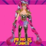 Mermista's seashell from the 1986 vintage She-Ra Princess of Power toy line. Check out her figure and other accessories using the weapons rack database finder