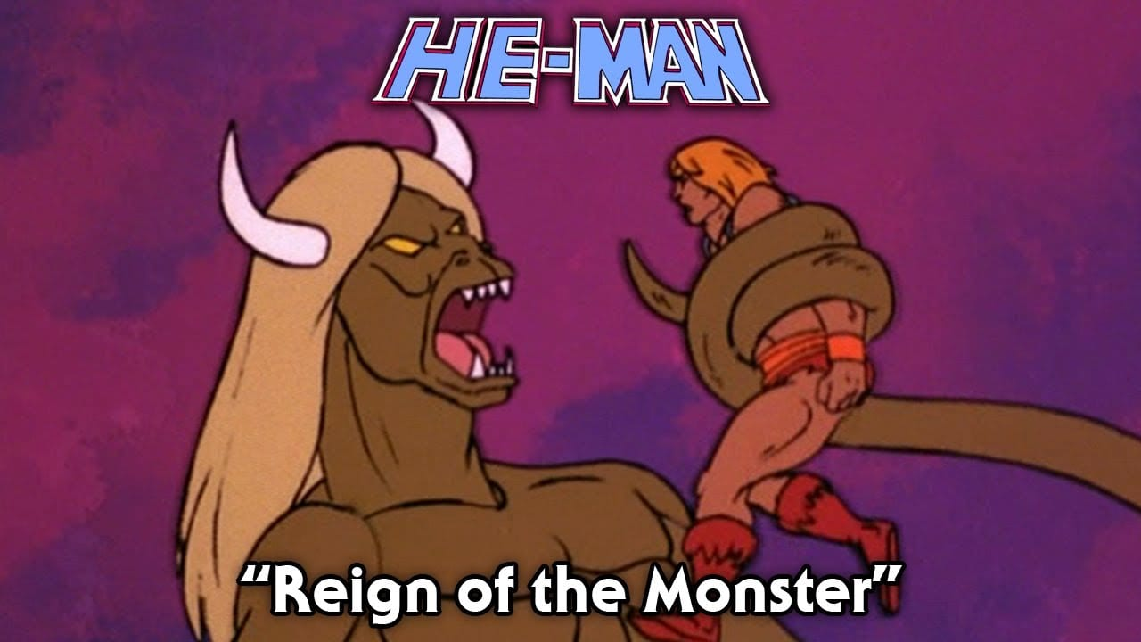 Reign of the Monster Episode 16 He-Man and the Masters of the Universe Cartoon