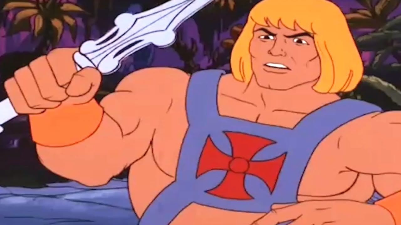 The Time Corridor Episode 8 He Man and the Masters of the Universe Cartoon