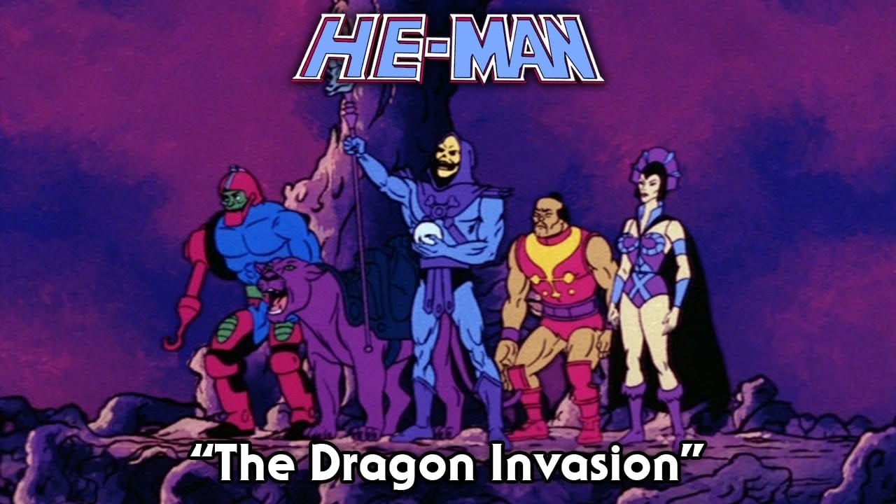 The Dragon Invasion  Episode 9 He Man and the Masters of the Universe Cartoon