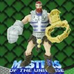 Fisto action figure from the Masters of the Universe Modern Series toy line. Find other figures & accessories using the Weapons Rack.