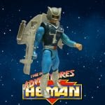 1989 Icarius (aka Flipshot) figure from The New Adventures of He-Man toy line