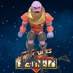 This is the Hook Em version of Flogg from the 1992 New Adventures of He-Man toy line and animated series.
