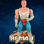 Kayo is dressed in blue pants with silver boots and sliver gloves and was part of the 1990 New Adventure of He-Man toy line.