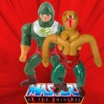 King Hiss action figure from the He-Man and the Masters of the Universe toy line