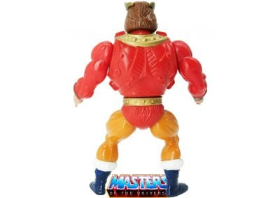 King Randor Vintage Masters of the Universe Back View
