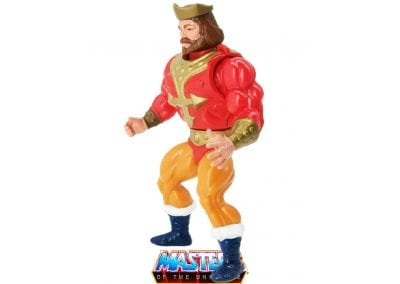 King Randor Vintage Masters of the Universe Left Side View