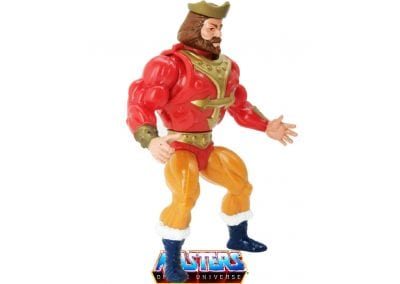 King Randor Vintage Masters of the Universe Right Side View