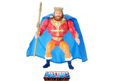 King Randor Vintage Masters of the Universe Figure Front View