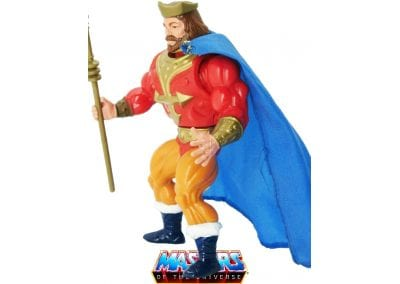 King Randor Vintage Masters of the Universe Figure Left Side View