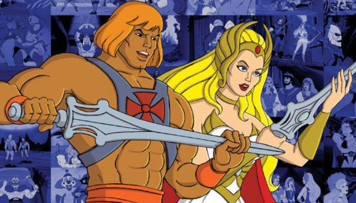 Masters of the Universe and She-Ra Princess of Power Cartoons