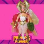 She-Ra figure from the 1985 vintage She-Ra Princess of Power toy line