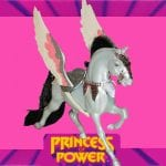 "Storm is Catra's steed from the first wave of the Princess of Power toyline. Storm is replaced by Clawdeen in wave two as Catra's pet and transportation means, but returns for wave three as ""Silver Storm"" to be ridden by Shower Power Catra."
