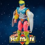 Spinwit figure from the 1991 New Adventures of He-Man toy line. Check out his figure & accessories using the Weapons Rack database finder.