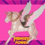 Swift Wind is the alter ego of She-Ra's Horse Spirit, which she lovingly refers to him as Swifty. After She-Ra uses her magic sword, Spirit transforms into Swift Wind, an Alicorn which is a combination of a Unicorn and a winged horse or Pegasus.