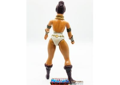 Teela Masters of the Universe Figure Back View