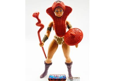 Teela Masters of the Universe Figure Geared Up