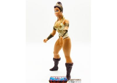 Teela Masters of the Universe Figure Left Side View