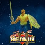 This is the Thunder Punch He-Man figure from the New Adventures of He-Man toy line. Check out his figure & accessories using the Weapons Rack database.