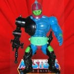 Vintage 1983 Trap Jaw action figure from the Masters of the Universe toy line