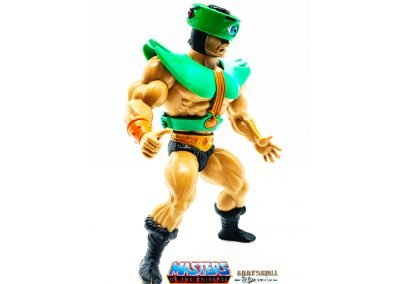 Tri-Klops Masters of the Universe Vintage Figure Right Side View