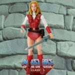 Adora action figure from the Masters of the Universe Classics toy line. Find other figures, weapons, vehicles, and accessories using the Weapons Rack.