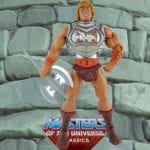 Battle Armor He-Man action figure from the Masters of the Universe Classics toy line. Find other figures, weapons, vehicles, and accessories using the Weapons Rack.