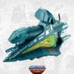 Battle Ram Sky Sled vehicle part from the Masters of the Universe Classics toy line.