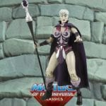 Battleground Evil-Lyn action figure from the Masters of the Universe Classics toy line. Find other figures, weapons, vehicles, and accessories using the Weapons Rack.