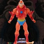 Beast Man action figure from the Filmation Super7 Masters of the Universe toy line. Find other figures, weapons, vehicles, and accessories using the Weapons Rack.