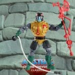 Blast Attak action figure from the Masters of the Universe Classics toy line. Find other figures, weapons, vehicles, and accessories using the Weapons Rack.
