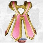 Bubble Power She-Ra's armor from the Masters of the Universe Classics toy line. Find other figures, weapons, vehicles, and accessories using the Weapons Rack.