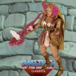 Bubble Power She-Ra action figure from the Masters of the Universe Classics toy line. Find other figures, weapons, vehicles, and accessories using the Weapons Rack.