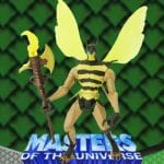 Buzz Off action figure from the Masters of the Universe Modern Series toy line. Find other figures & accessories using the Weapons Rack.