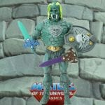 Castle Grayskullman action figure from the Masters of the Universe Classics line. Find other figures, weapons, vehicles, and accessories using the Weapons Rack.