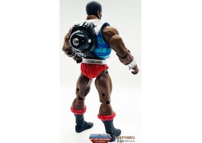 Clamp Champ Masters of the Universe Classics Figure Back View