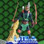 Claw Attack Stratos action figure from the Masters of the Universe 200x Modern Series toy line. Find other figures, weapons, and accessories using the Weapons Rack.