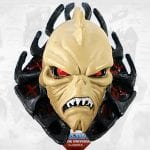 Despara Masked Hordak Head from the Masters of the Universe Classics toy line. Find other figures, weapons, vehicles, and accessories using the Weapons Rack.