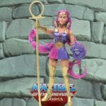 Entrapta action figure from the Masters of the Universe Classics line. Find other figures, weapons, vehicles, and accessories using the Weapons Rack.