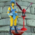 Evil-Lyn action figure from the Masters of the Universe Classics line. Find other figures, weapons, vehicles, and accessories using the Weapons Rack.