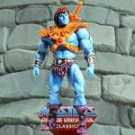 Faker action figure from the Masters of the Universe Classics line. Find other figures, weapons, vehicles, and accessories using the Weapons Rack.