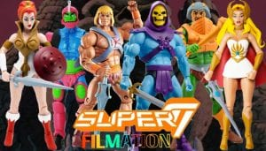 Filmation Super7 Masters of the Universe Toy Line