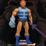 Fisto action figure from the Filmation Super7 Masters of the Universe toy line. Find other figures, weapons, vehicles, and accessories using the Weapons Rack.