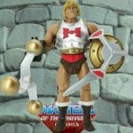 Flying Fists He-Man action figure from the Masters of the Universe Classics line.